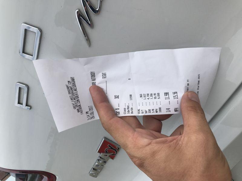 Porsche Macan Timeslip Scan