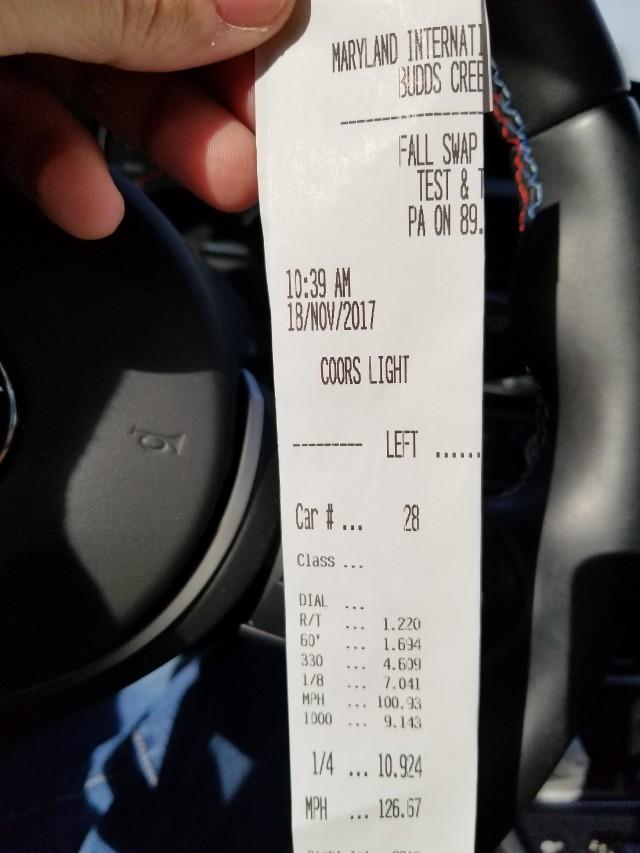 BMW M3 Timeslip Scan
