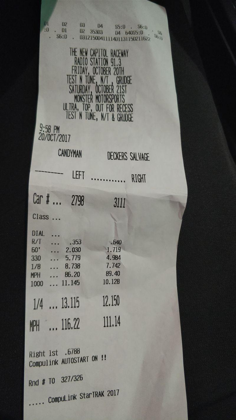 BMW 335xi Timeslip Scan