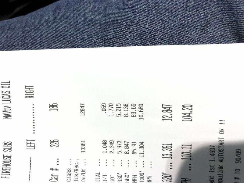 Dodge Ram 1500 Timeslip Scan