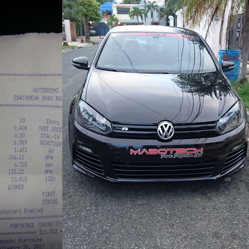 Volkswagen Golf R Timeslip Scan