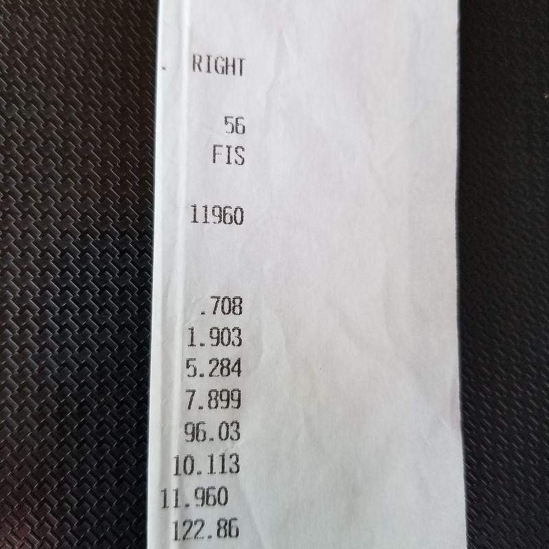 Volkswagen Golf R32 Timeslip Scan