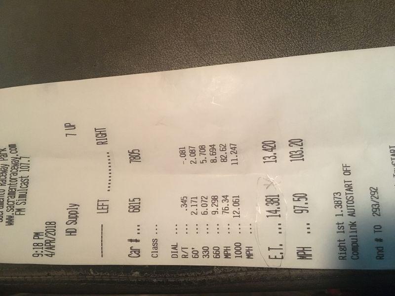 Lexus GS400 Timeslip Scan