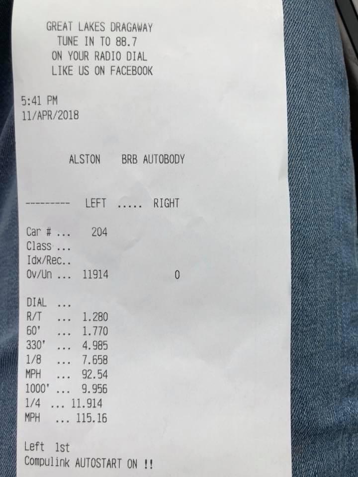 Audi A7 Timeslip Scan