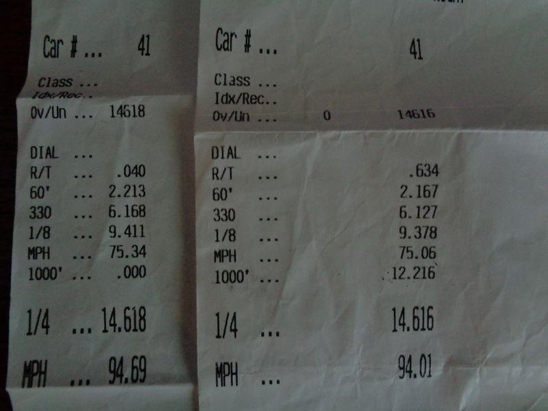 Infiniti FX35 Timeslip Scan