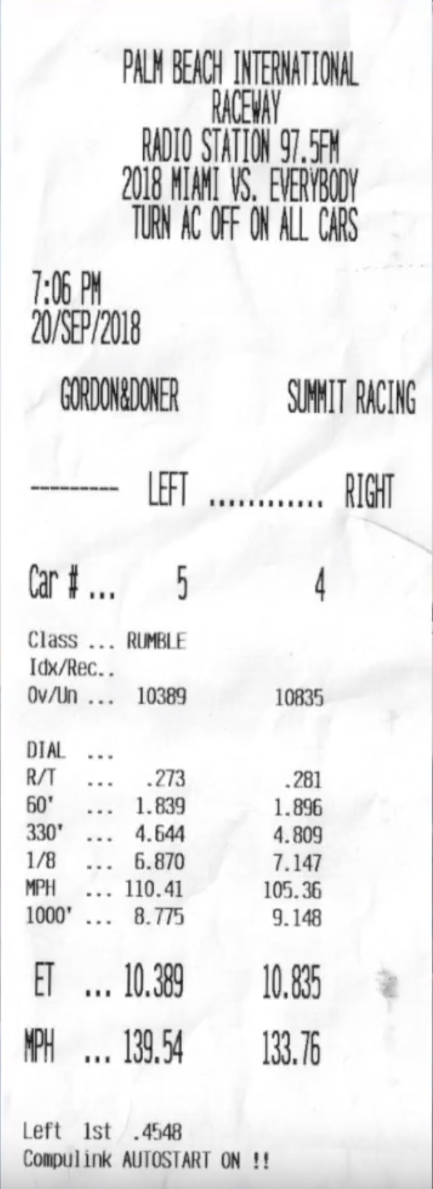 Ferrari 812 Superfast Timeslip Scan