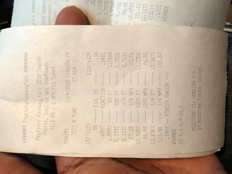 BMW 535xi Timeslip Scan