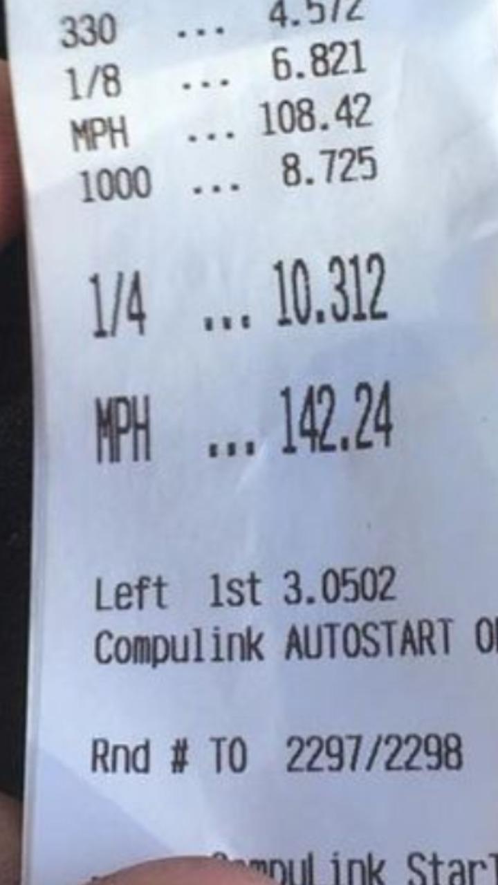 Honda Civic Timeslip Scan