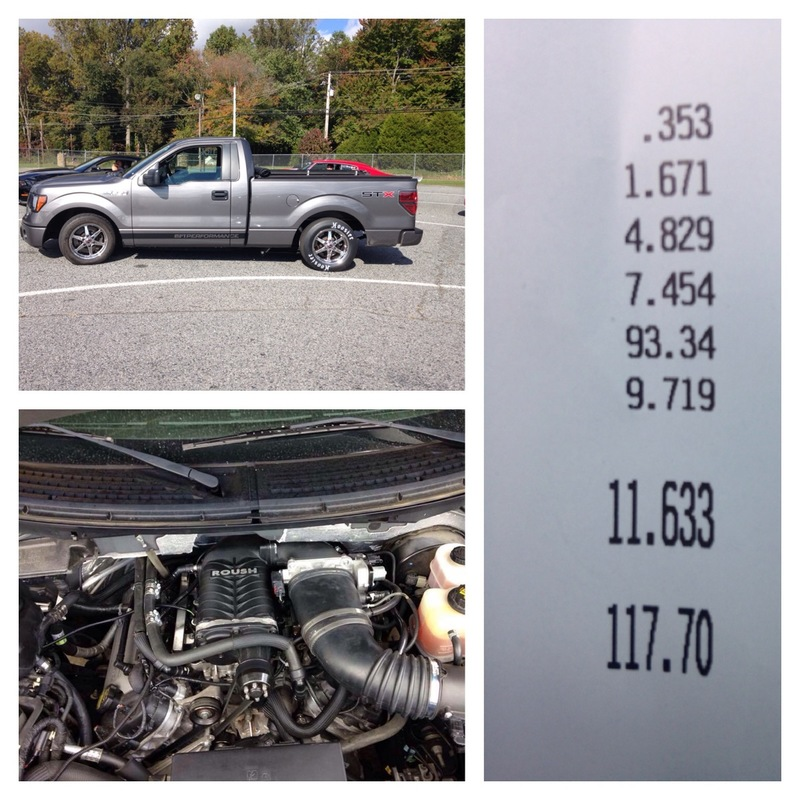 Ford F150 Timeslip Scan