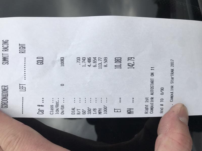 McLaren 570S Timeslip Scan