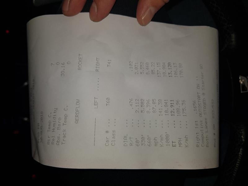 Lexus IS350 Timeslip Scan