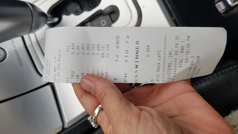 Chrysler Crossfire Timeslip Scan