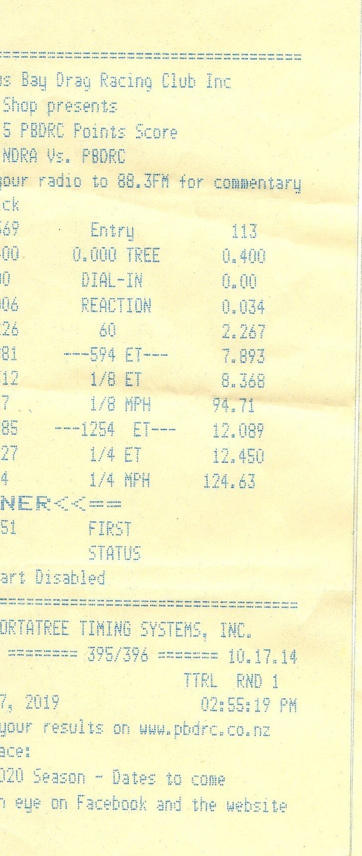 Jaguar XKR Timeslip Scan