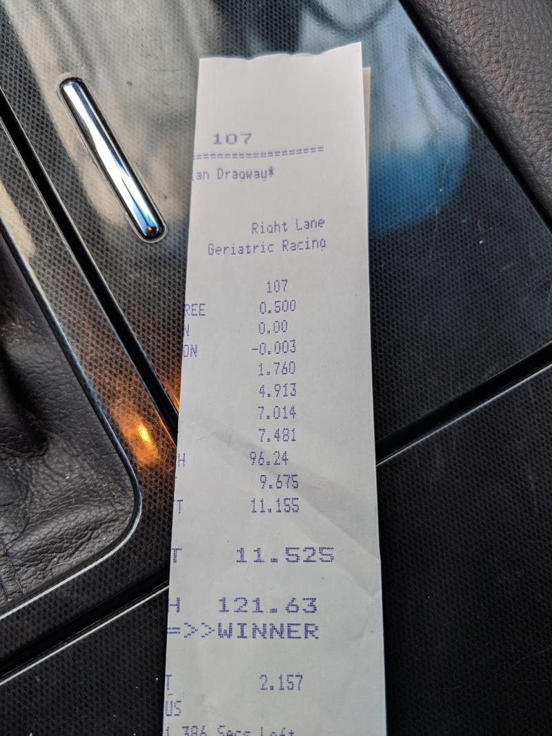 Ford Taurus Timeslip Scan
