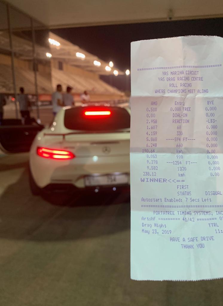 Mercedes-Benz AMG Timeslip Scan