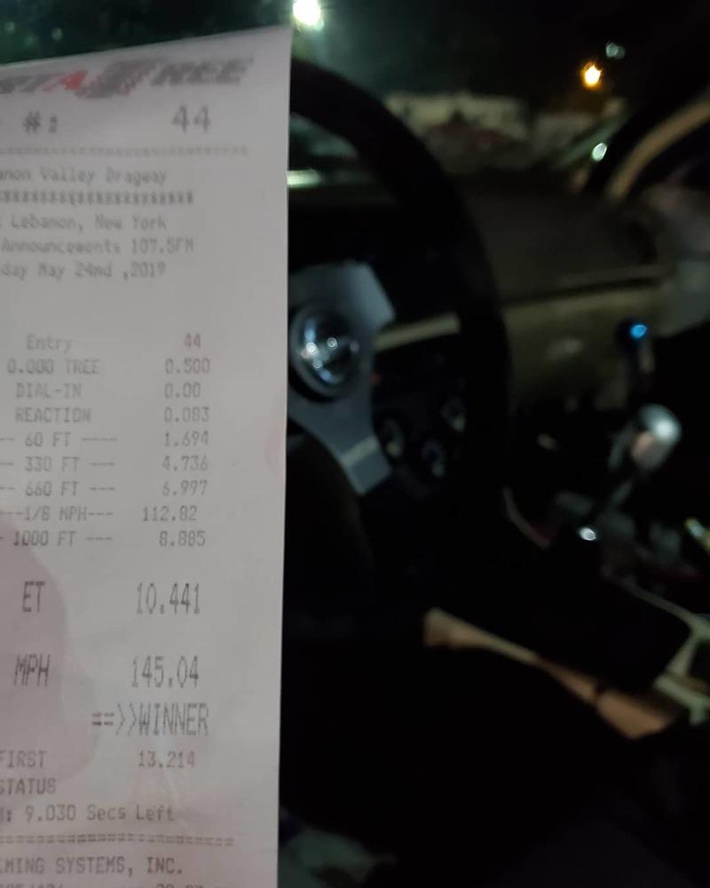 Honda Accord Timeslip Scan