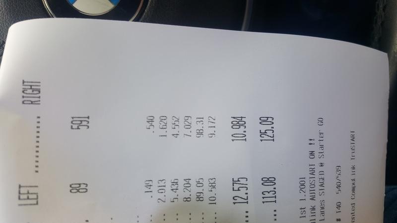BMW 650i Timeslip Scan