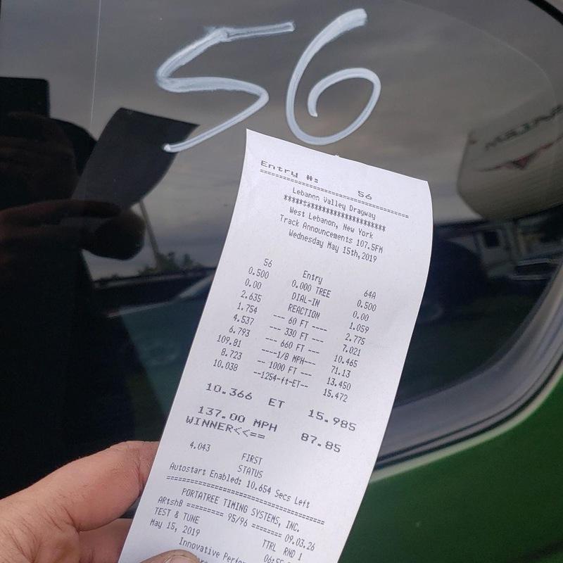 Chevrolet Monte Carlo Timeslip Scan