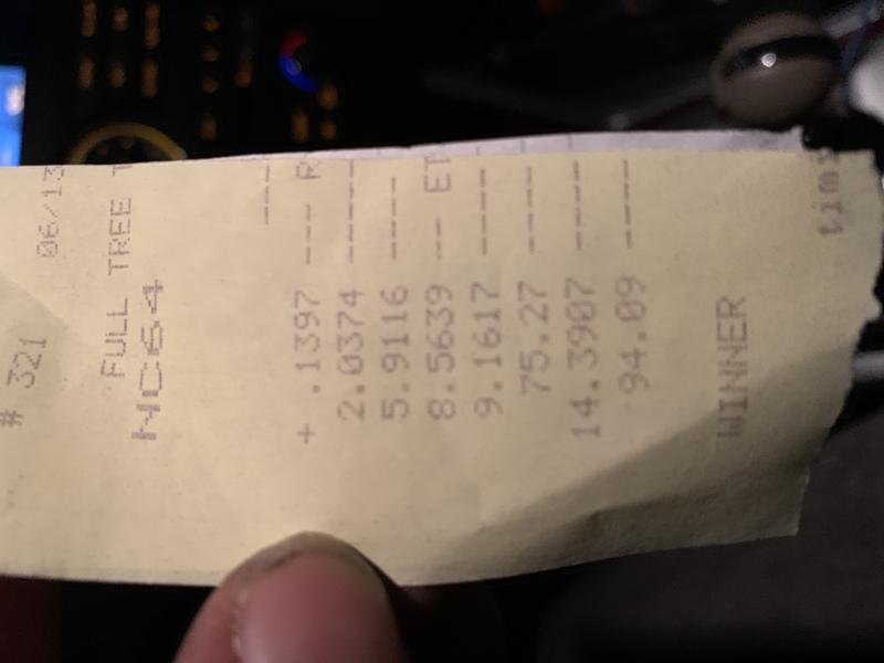 Nissan Pathfinder Timeslip Scan