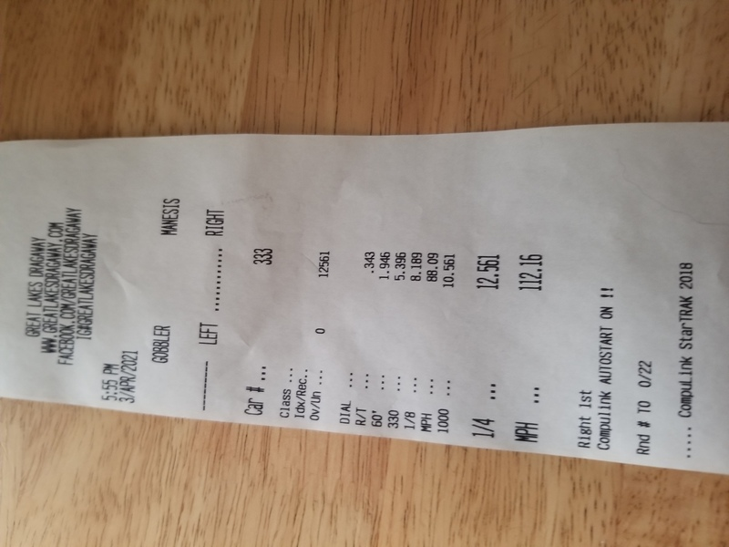 Infiniti M56 Timeslip Scan
