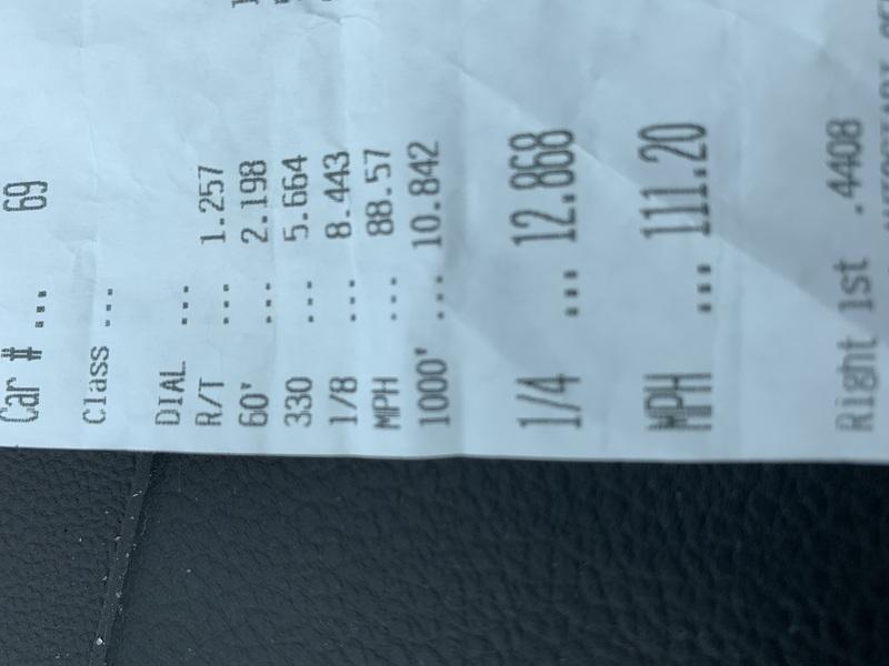 Volkswagen GTI Timeslip Scan