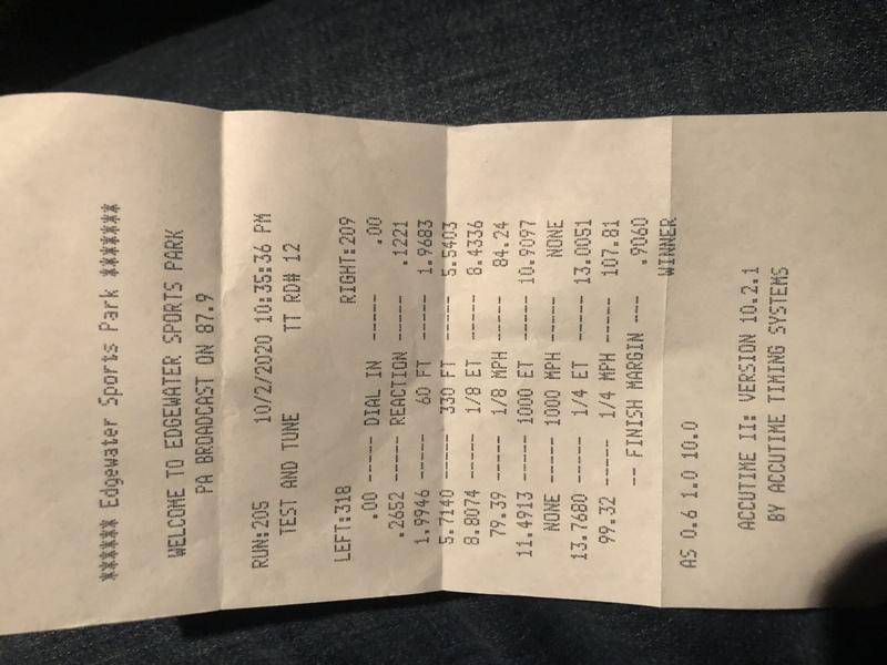 BMW 535i Timeslip Scan