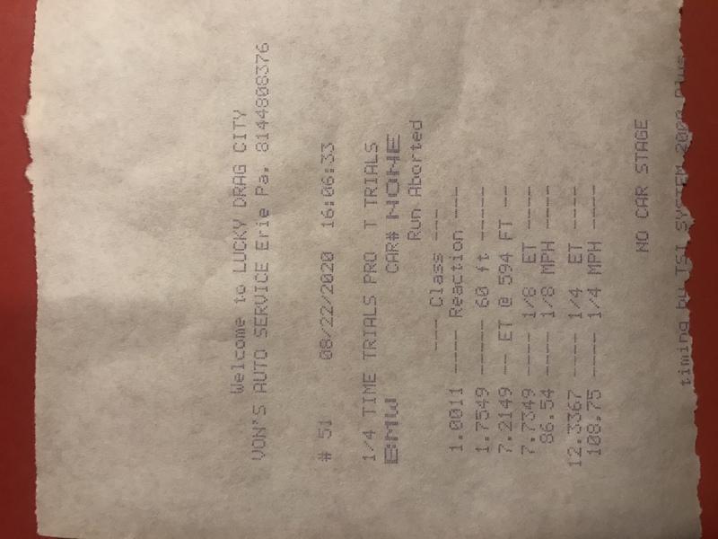 BMW X5 Timeslip Scan