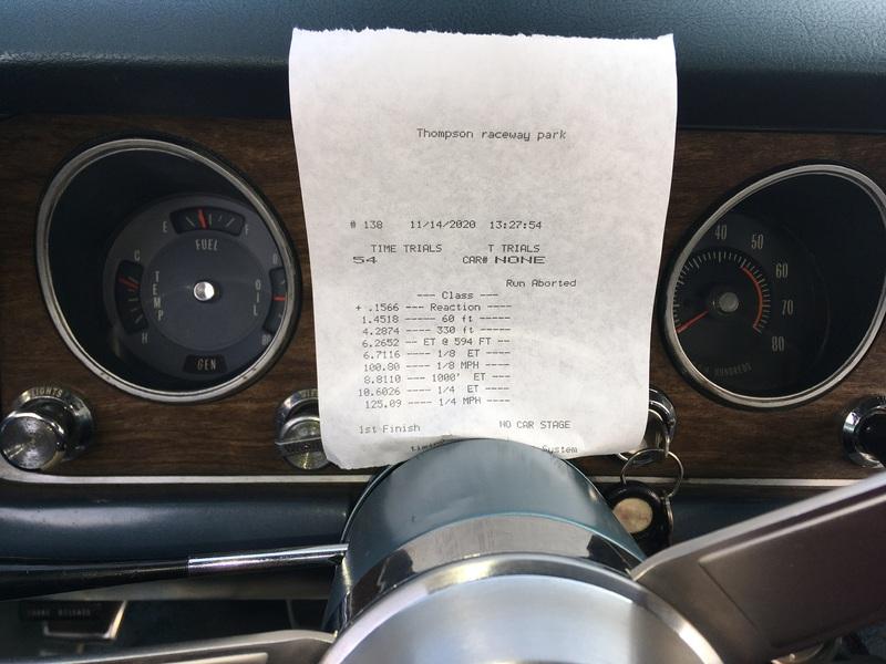 Pontiac GTO Timeslip Scan