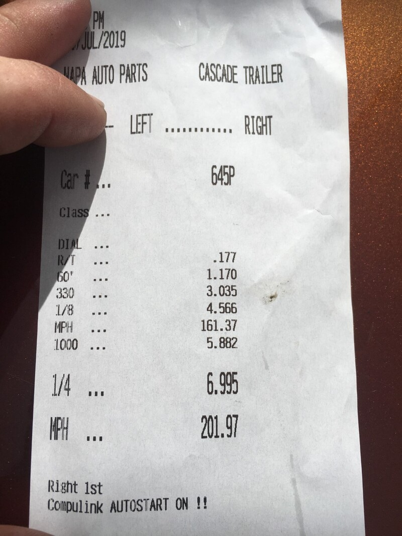Chevrolet Lumina Timeslip Scan