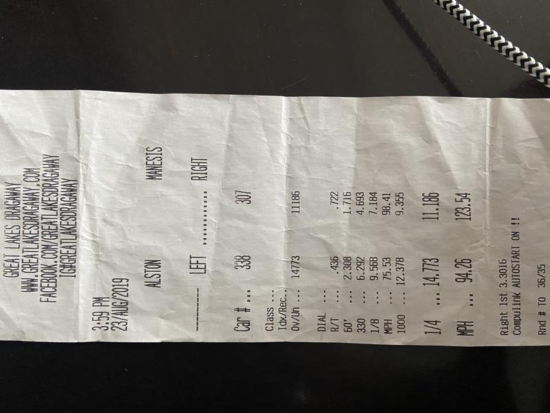 Audi S8 Timeslip Scan