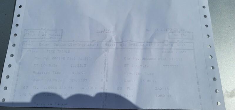 Dodge Durango Timeslip Scan