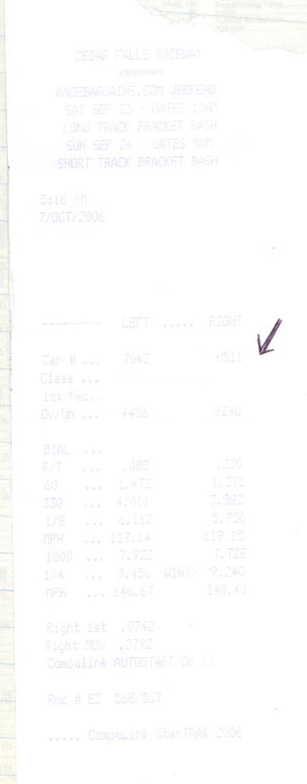 Chevrolet Chevelle Timeslip Scan
