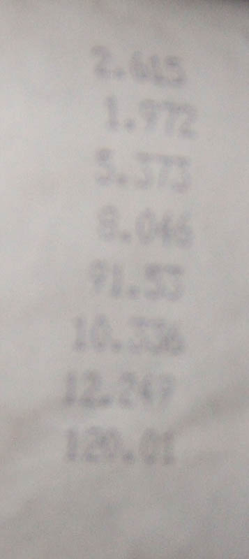 Toyota Supra Timeslip Scan