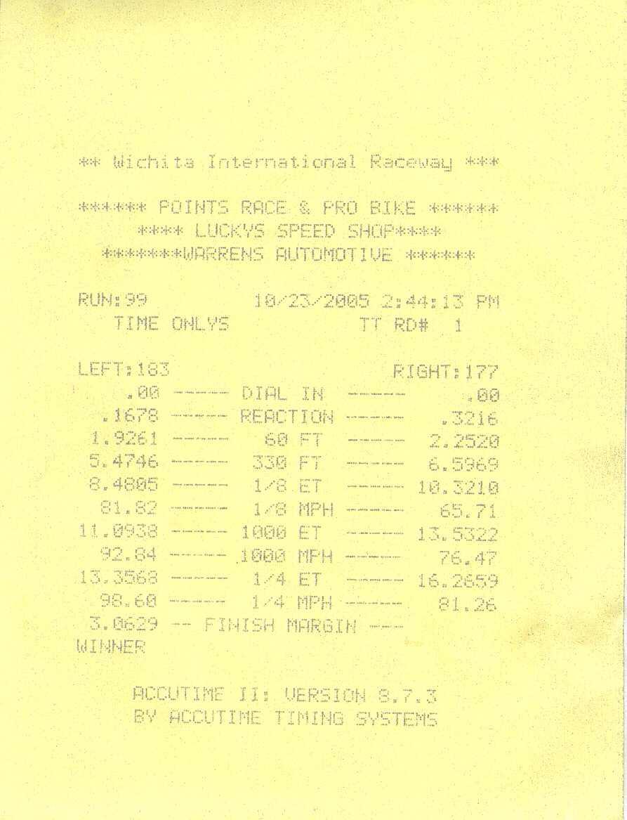 Datsun 280 ZX Timeslip Scan