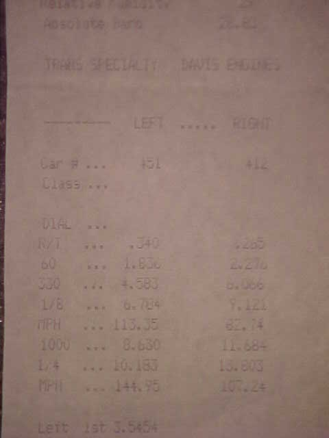 Pontiac Le Mans Timeslip Scan