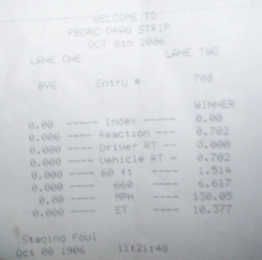 Ford Capri Timeslip Scan