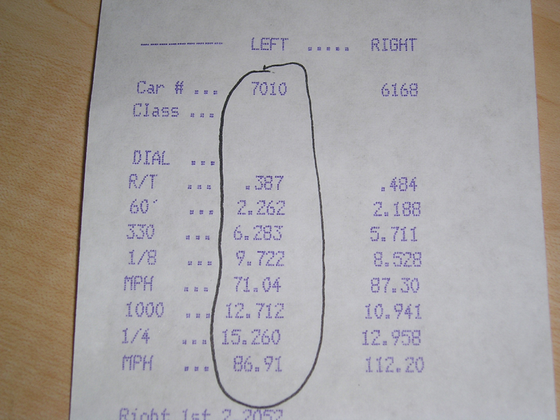 Chevrolet CK1500 Truck Timeslip Scan