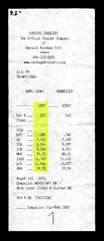 Buick Riviera Timeslip Scan