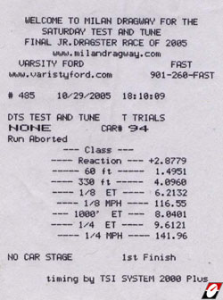 1991 Plymouth Laser RS Turbo Timeslip Scan