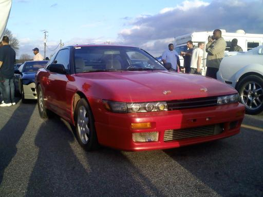 1993  Nissan 240SX SR Turbo hatchback Timeslip Scan