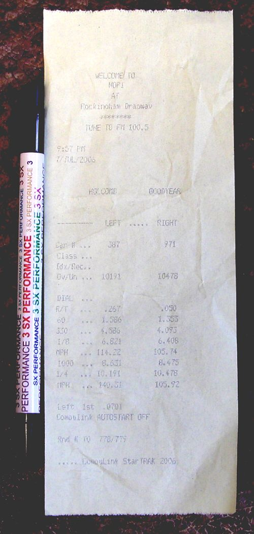 1993  Mitsubishi 3000GT FWD Turbo Conversion Timeslip Scan