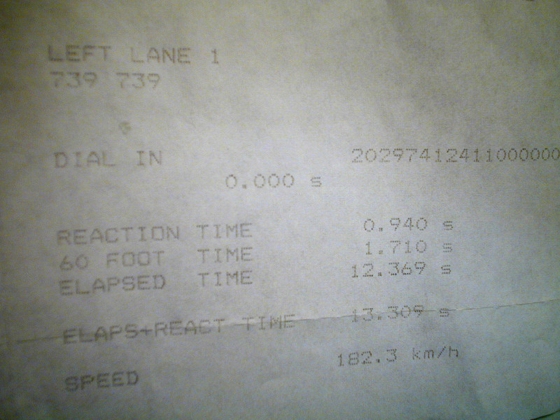 Nissan 200SX Timeslip Scan