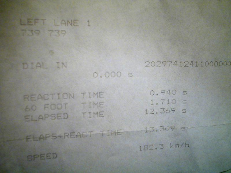 Nissan 200SX Timeslip Scan