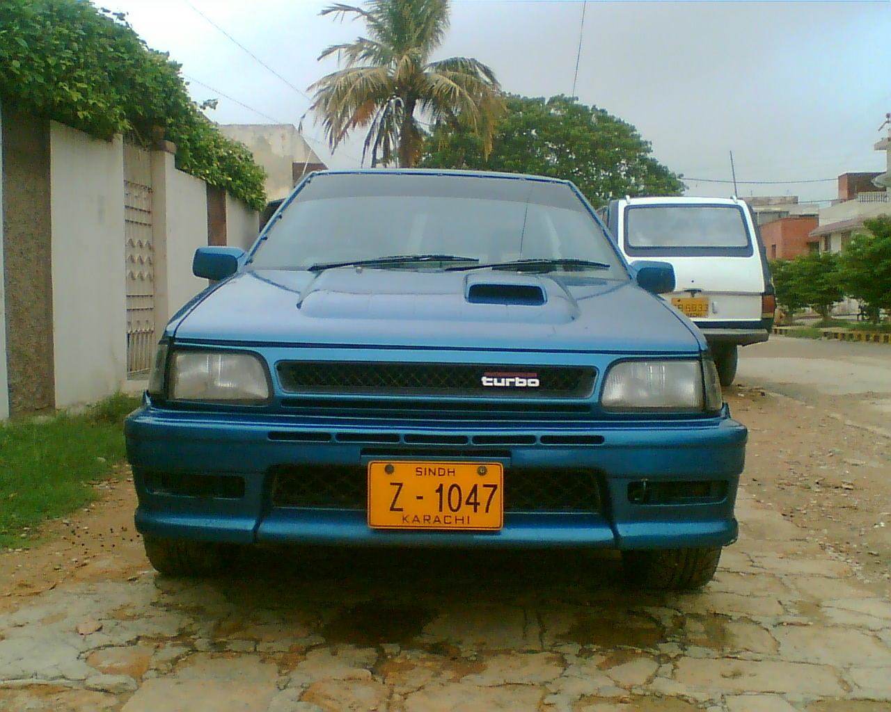 Toyota Starlet Timeslip Scan
