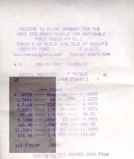 Chevrolet Caprice Timeslip Scan
