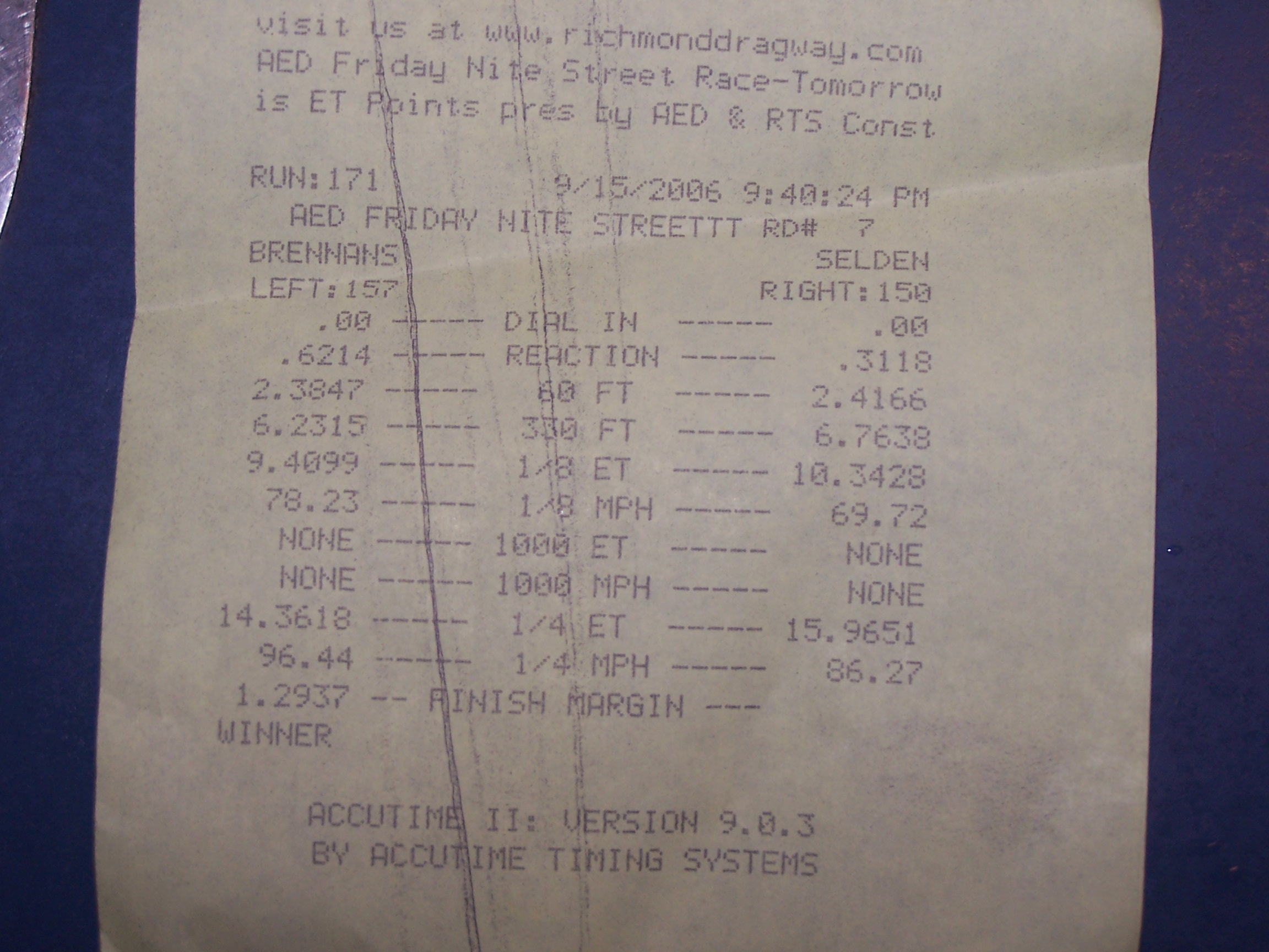 GMC Yukon XL Timeslip Scan