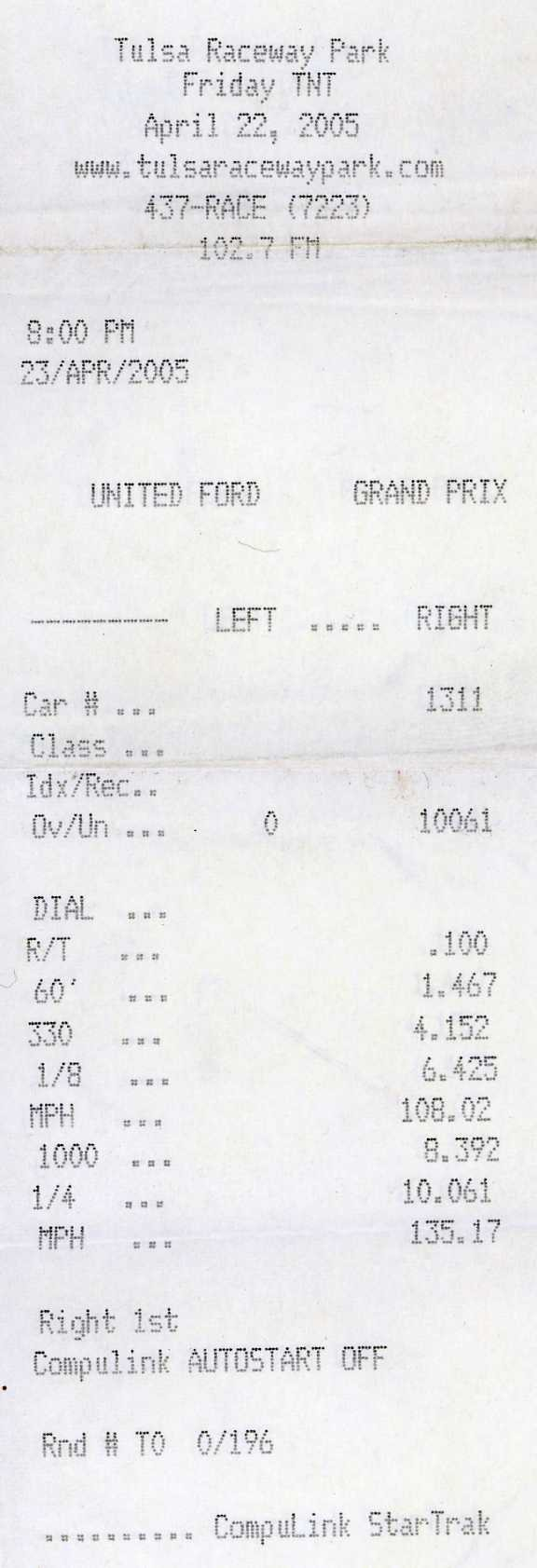 1964 Plymouth Belvedere 426 Max Wedge Timeslip Scan