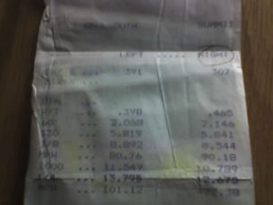 Nissan 240SX Timeslip Scan