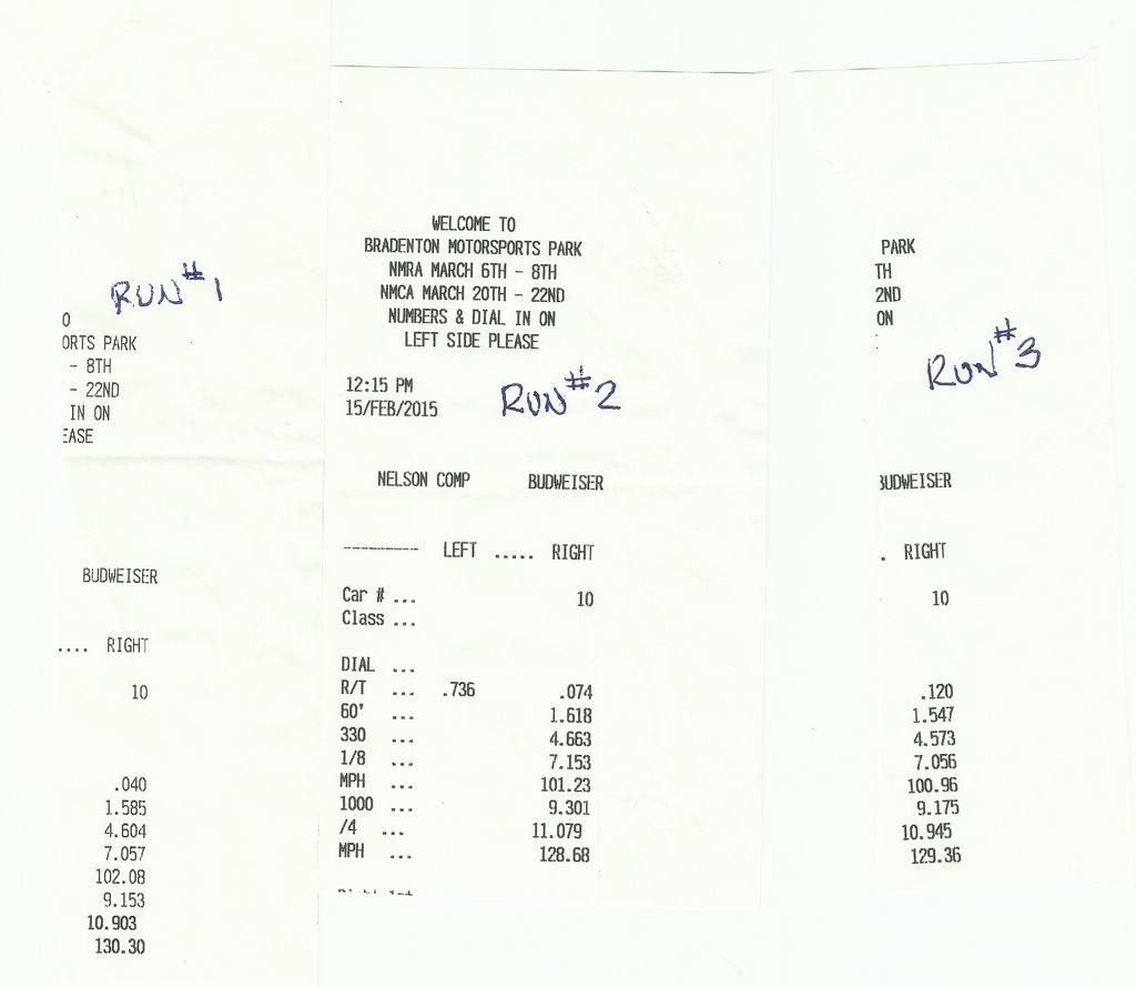 Nissan 350Z VBOX Graph