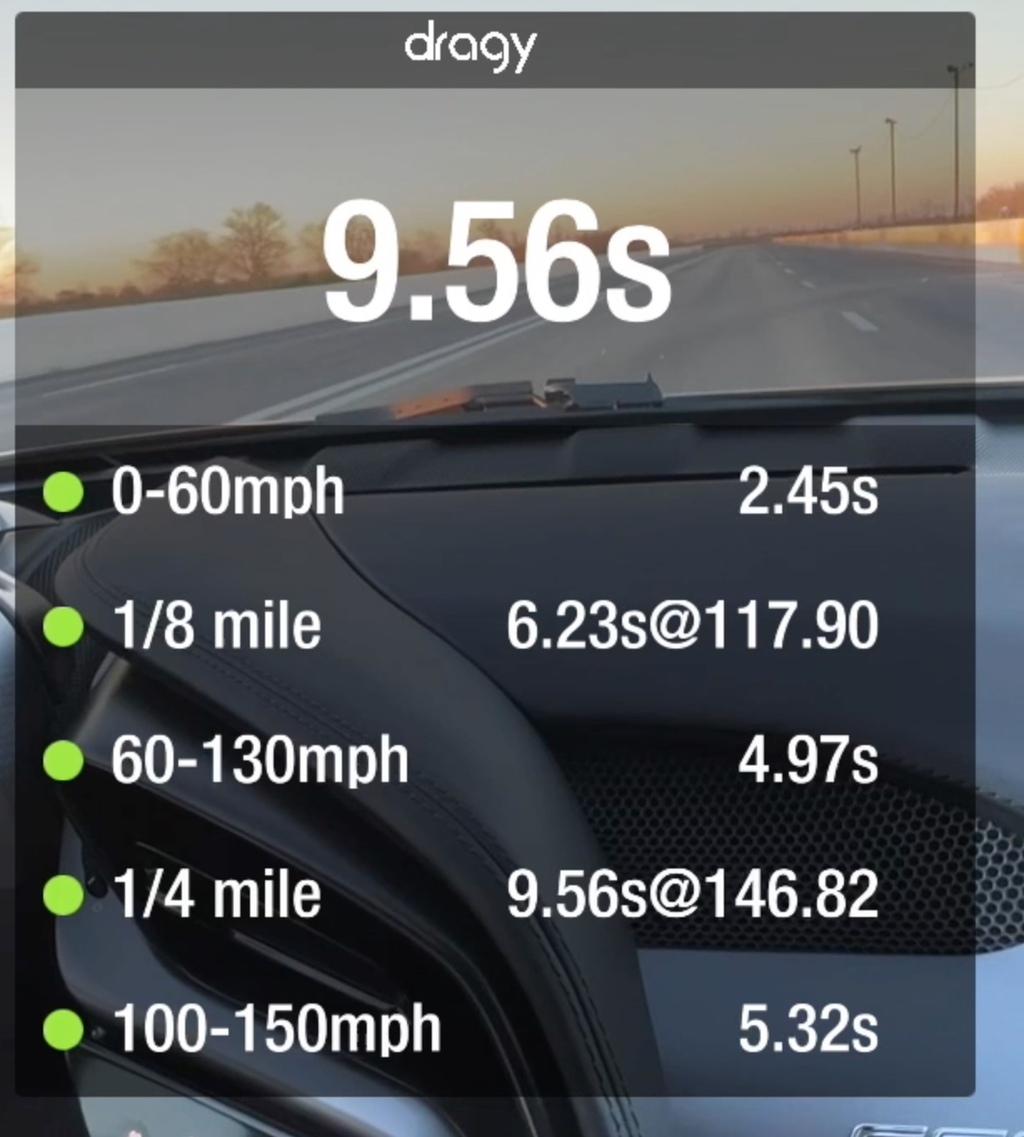 Ferrari SF90 Stradale VBOX Graph